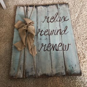 Other - Rustic wooden sign